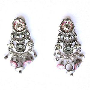 Designer Silver Earrings Ayala Bar